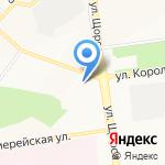 Хризантема на карте Белгорода