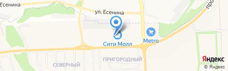 Жизель на карте Белгорода