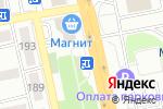 Схема проезда до компании Цветочный магазин в Белгороде