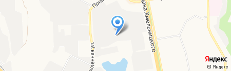 Полярная звезда на карте Белгорода