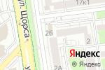 Схема проезда до компании Водолей в Белгороде