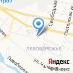 Детский сад №82 комбинированного вида на карте Белгорода