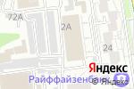 Схема проезда до компании N-TYRE в Белгороде