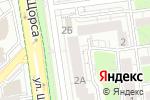 Схема проезда до компании Всё для офиса в Белгороде