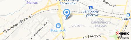 Основа здоровья на карте Белгорода