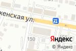 Схема проезда до компании Технодрев-Плюс в Белгороде
