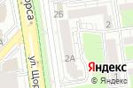 Схема проезда до компании КУХНИ АТРИУМ в Белгороде