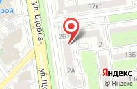 Схема проезда до компании ДОРС в Белгороде