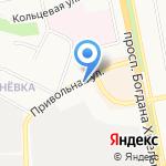 Парабулок на карте Белгорода