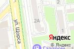 Схема проезда до компании Голливуд в Белгороде