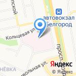 Храм иконы Божией Матери Всецарица на карте Белгорода