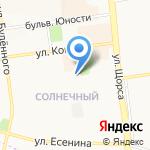 Средняя общеобразовательная школа №49 с углубленным изучением отдельных предметов на карте Белгорода