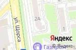 Схема проезда до компании Бель Де Жур в Белгороде
