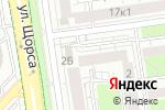 Схема проезда до компании Щит, КПК в Белгороде