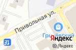 Схема проезда до компании Печки лавочки в Белгороде