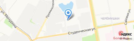 Мебельный цех на карте Белгорода