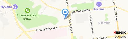Жимов на карте Белгорода