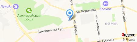 Автозапчасти БСК на карте Белгорода