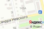 Схема проезда до компании Невский в Белгороде