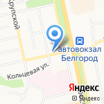 Невский на карте Белгорода