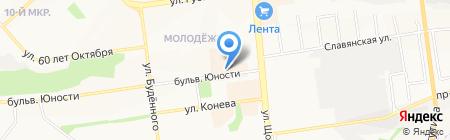 Участковый пункт полиции №7 на карте Белгорода