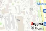 Схема проезда до компании Аскон-ЦР в Белгороде