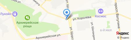 Единая аптечная сеть МУП на карте Белгорода