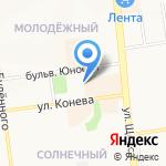Идея на карте Белгорода