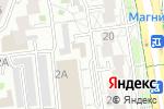 Схема проезда до компании Влюбленный кофе в Белгороде
