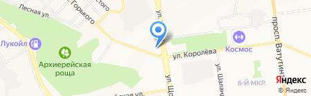 Тренажерный зал на карте Белгорода