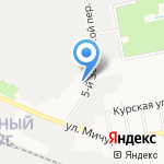 Палитра на карте Белгорода
