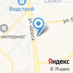 Магазин живого пива на карте Белгорода
