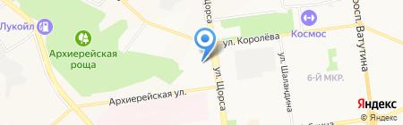 Бухгалтерско-юридическая компания на карте Белгорода