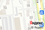 Схема проезда до компании Позитив в Белгороде