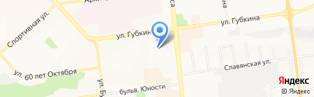 Дон Рулон на карте Белгорода