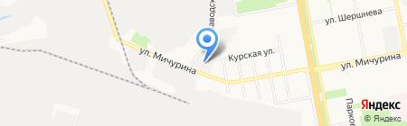 Розы Белогорья на карте Белгорода