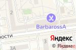 Схема проезда до компании Свет-а-мед в Белгороде