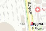 Схема проезда до компании Sound Center в Белгороде