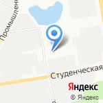 СтройТелекомСервис на карте Белгорода