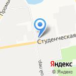 Белгородская межобластная ветеринарная лаборатория на карте Белгорода