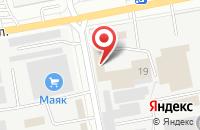Схема проезда до компании Автогараж в Белгороде