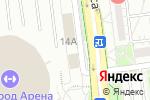 Схема проезда до компании Атланта в Белгороде
