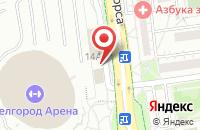 Схема проезда до компании ТВОЙ DОМ в Белгороде