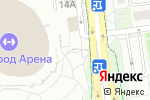 Схема проезда до компании Областной центр волейбола в Белгороде
