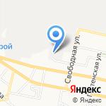 Сателлит на карте Белгорода