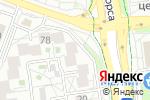 Схема проезда до компании Кипарис в Белгороде