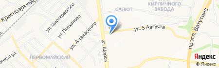 Баск на карте Белгорода