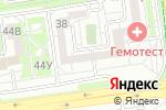 Схема проезда до компании Мерея в Белгороде
