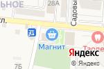 Схема проезда до компании Магнит в Таврово