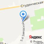 Конфискат на карте Белгорода
